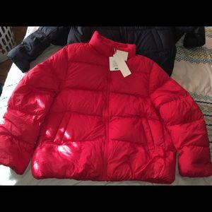 Light down volume jacket